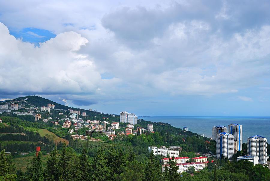 View Of A Sochi Photograph by Savushkin