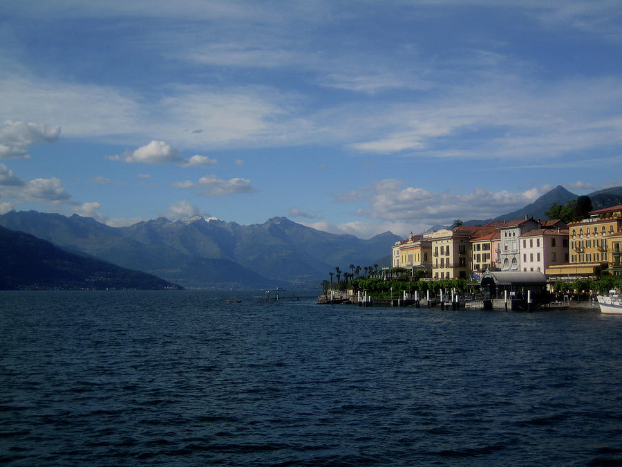 View Of Bellagio, Como Lake, Italy Photograph by Manuel Cazzaniga