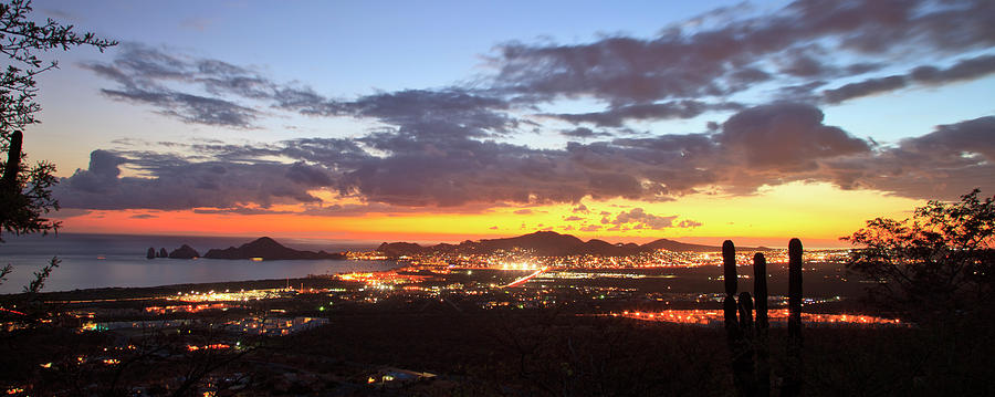 View Of Cabo San Lucas At Sunset Photograph by Stuart Westmorland / Design Pics