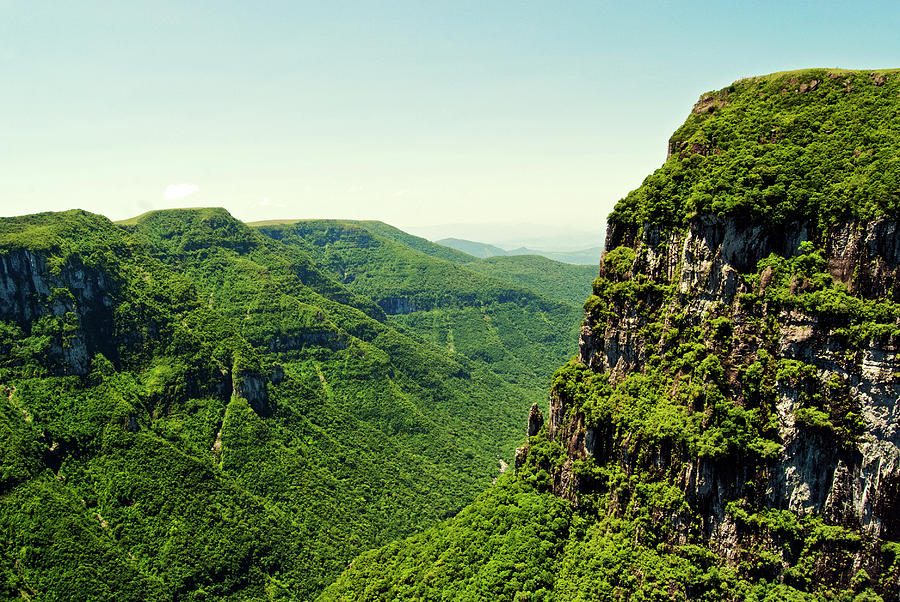 View Of Canyon Fortaleza Photograph by Ale Santos