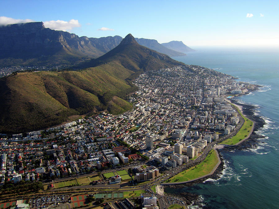 View Of Cape Town Photograph by Grahambedingfield