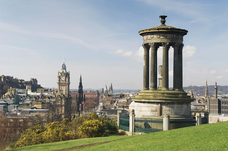 View Of Edinburgh From Calton Hill Photograph by Northlightimages