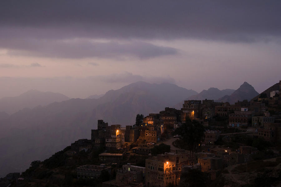 View Of Haraz Mountains At Night Photograph by © Santiago Urquijo