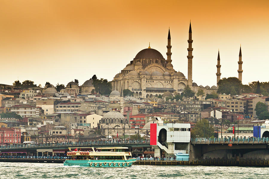 View Of Istanbul Photograph by (c) Thanachai Wachiraworakam