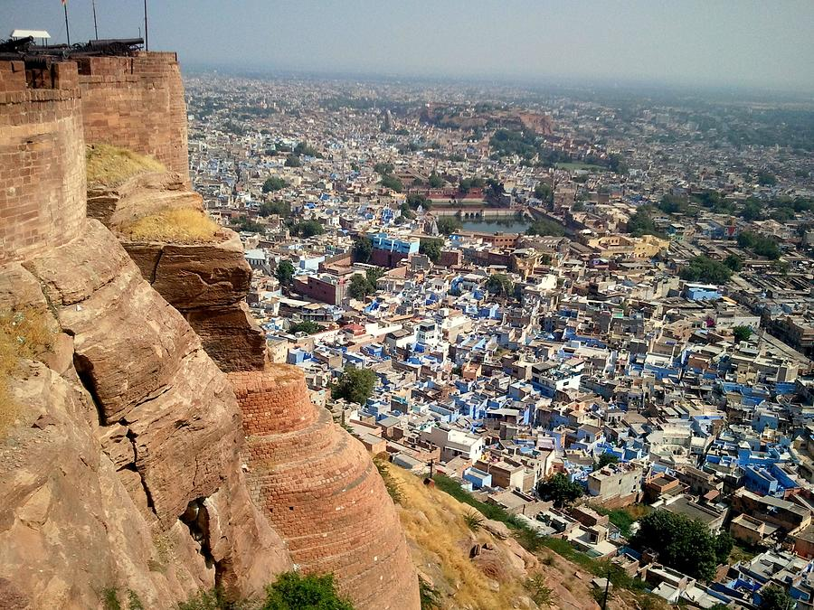 View Of Jodhpur From Mehrangarh Fort Photograph by Smit Sandhir