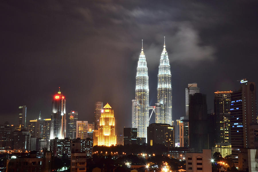 View Of Kualalumpur City Photograph by Dyahniar Photography