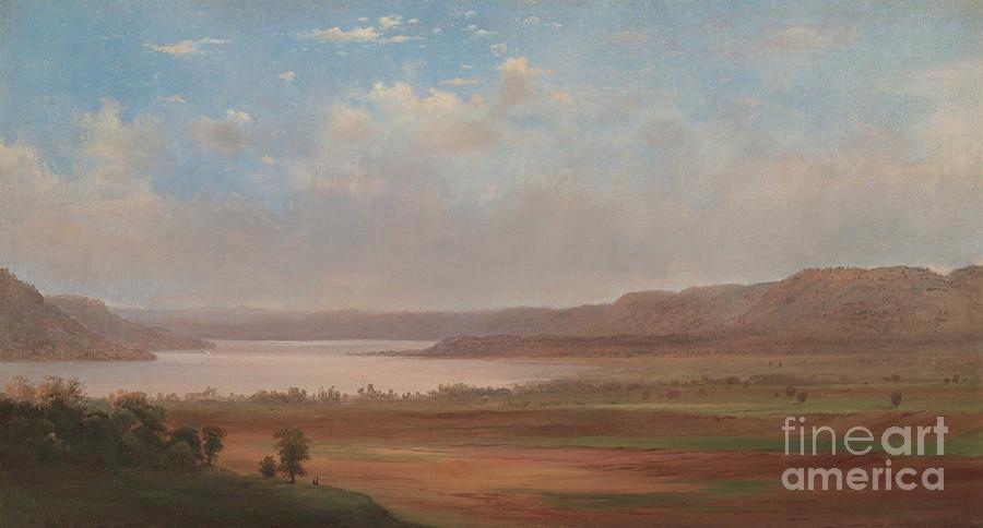 Landscape Painting - View Of Lake Pepin, Minnesota, 1862 by Robert Scott Duncanson