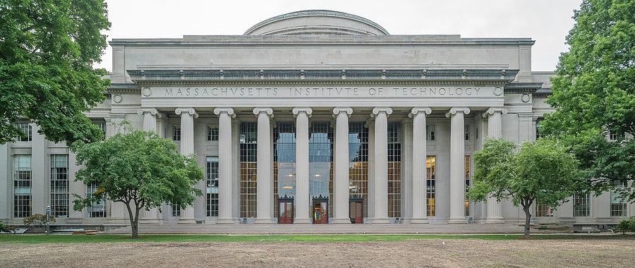 Horizontal Photograph - View Of Massachusetts Institute by Panoramic Images