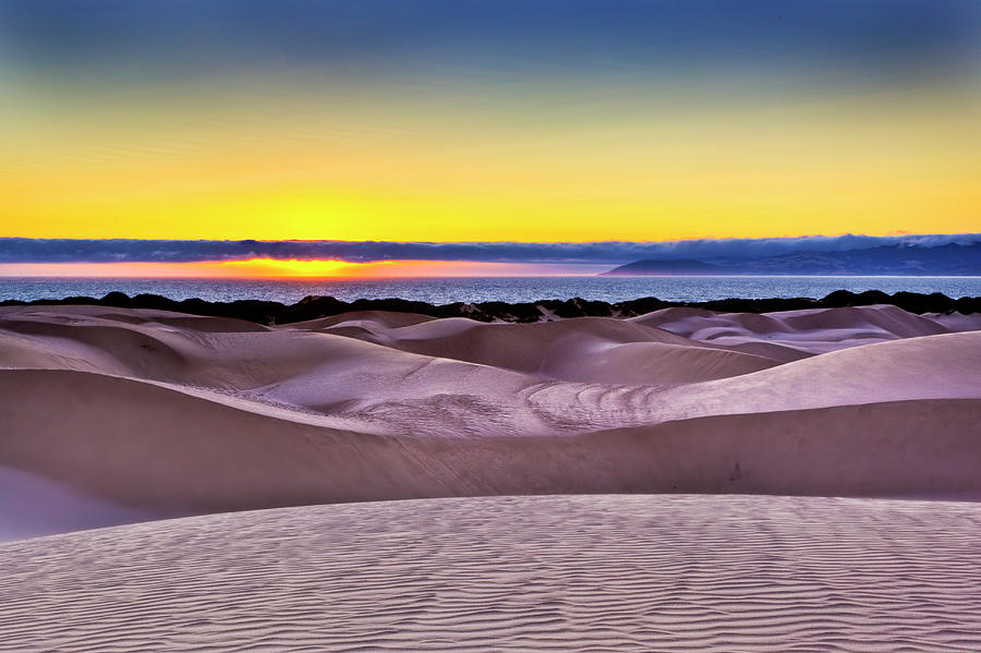 View Of Point Buchon From Dunes Photograph by Mimi Ditchie Photography