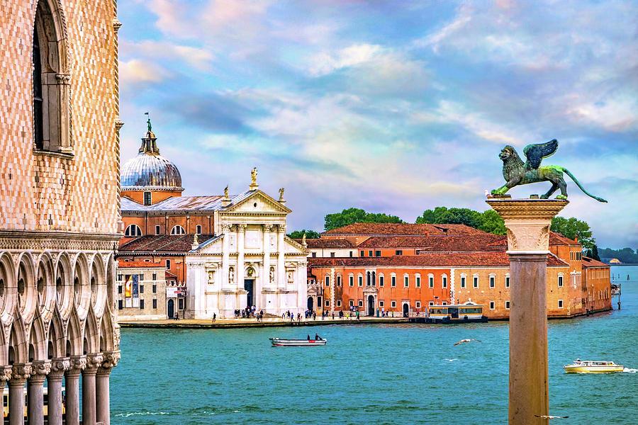 View of San Giorgio Maggiore by Carolyn Derstine