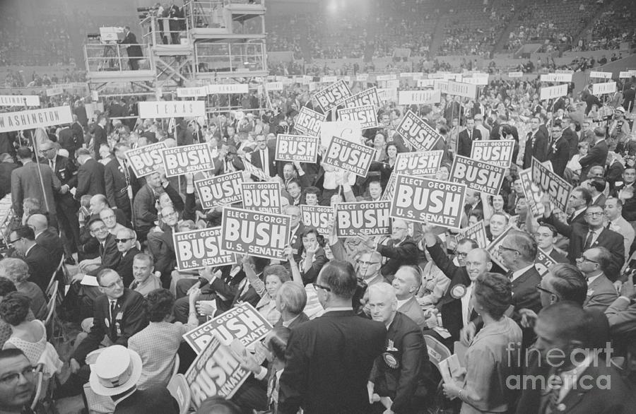 View Of Senate Race Rally Photograph by Bettmann