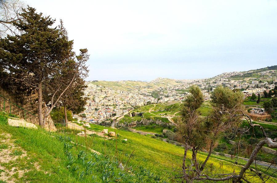 View of Silwan East Jerusalem - 3 by Alex Vishnevsky
