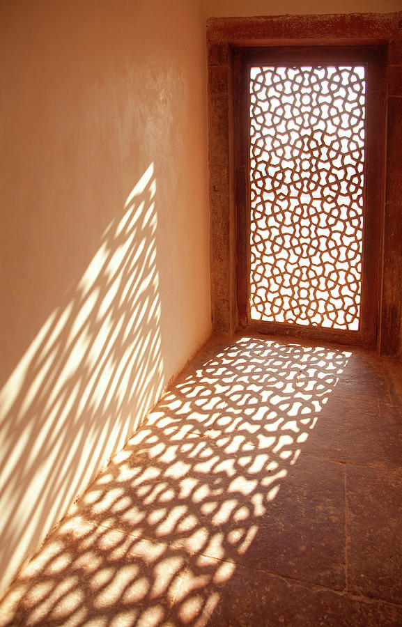 View Of Sun Coming Through Window Photograph by Grant Faint