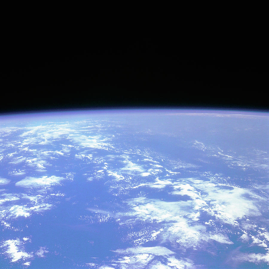 View Of The Earth From Space Photograph by Digital Vision.