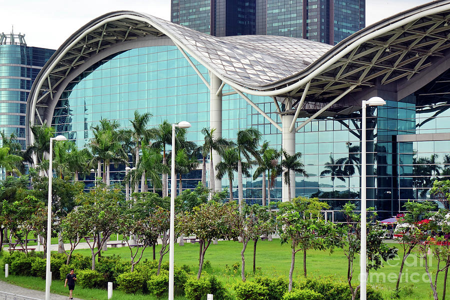 View of the Kaohsiung Exhibition Center by Yali Shi