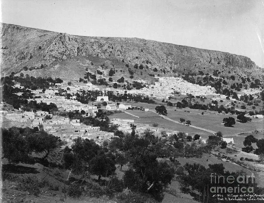 View of the village of Kritsa. by R Behaeddin