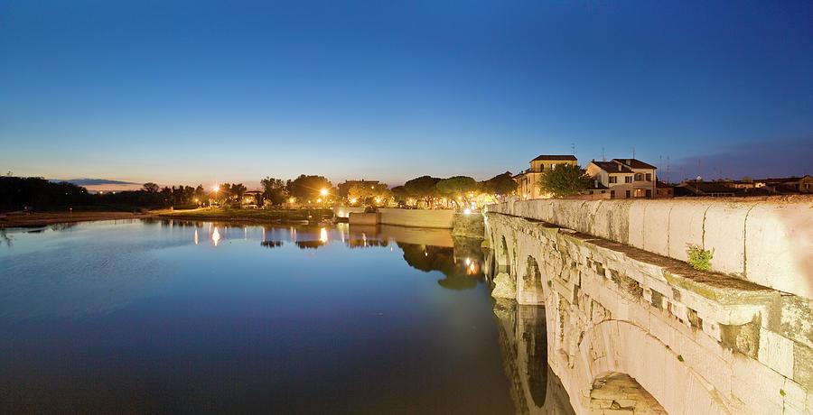 View Of Tiberio Bridge Photograph by Maremagnum