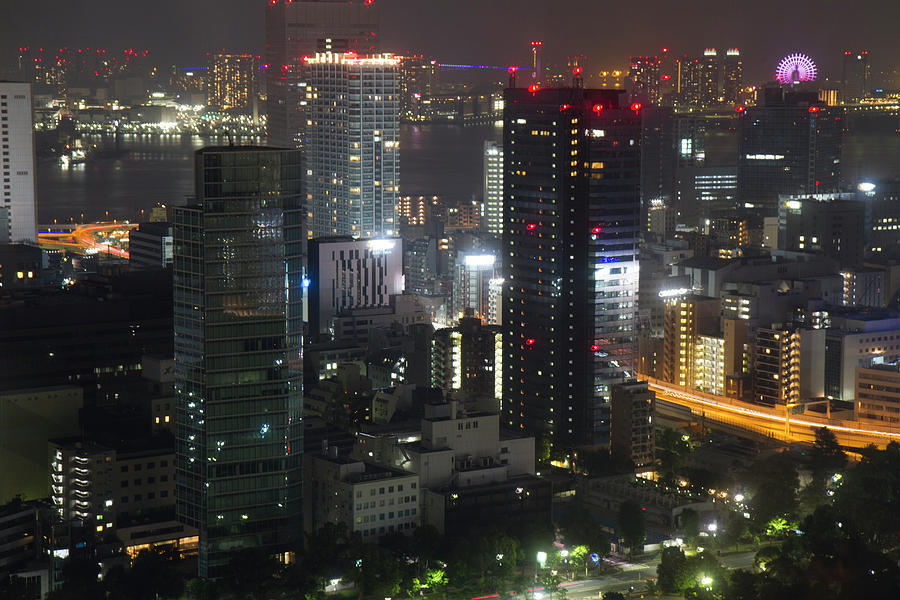 View of Tokyo from Tokyo Tower by Nathan Rupert