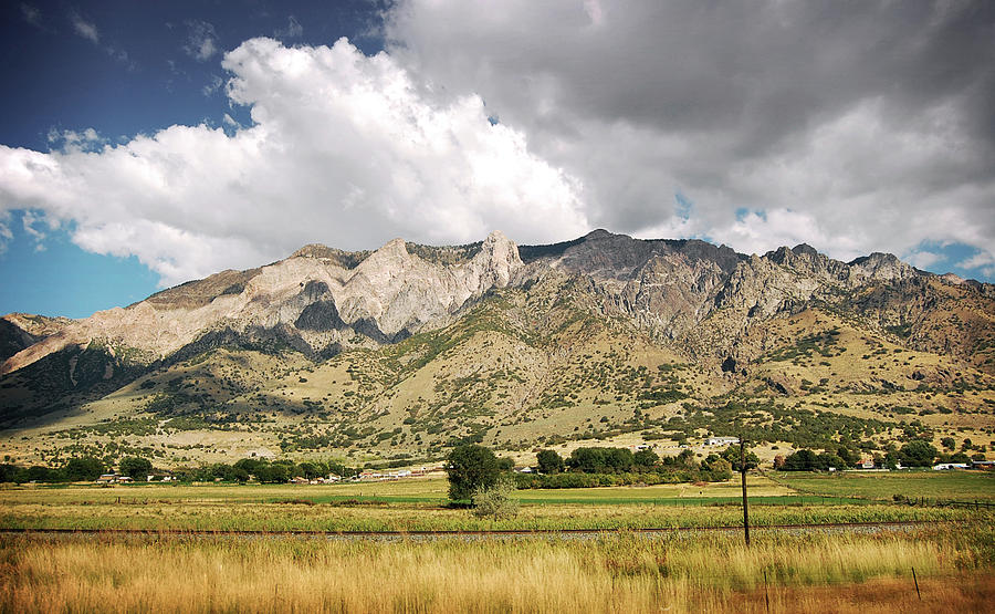 View Of Utah Mountains Photograph by Javier Encinas