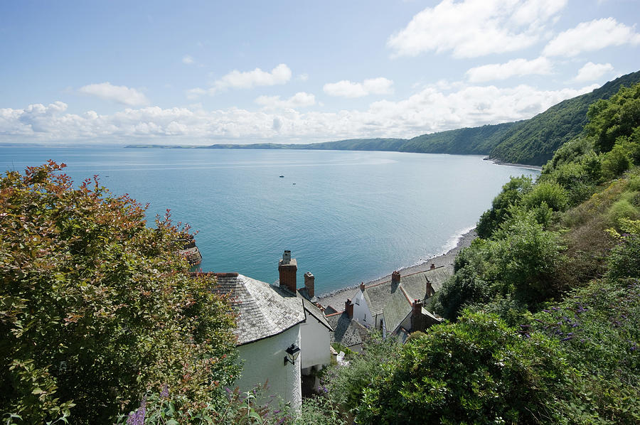 View Over Clovelly Bay Photograph by Alphotographic