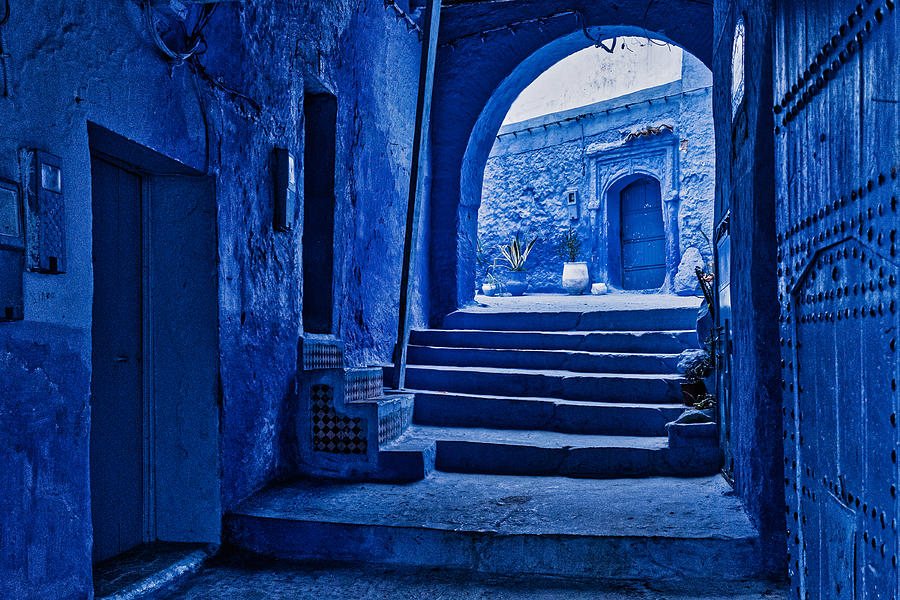 View to a Courtyard - Morocco by Stuart Litoff