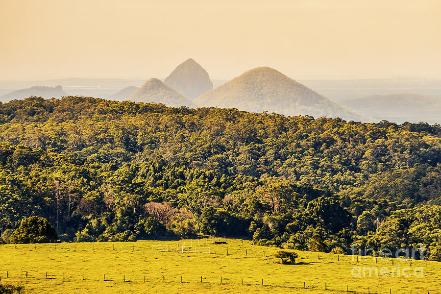 Sunshine Coast Photograph - View To The Sunshine Coast by Jorgo Photography - Wall Art Gallery