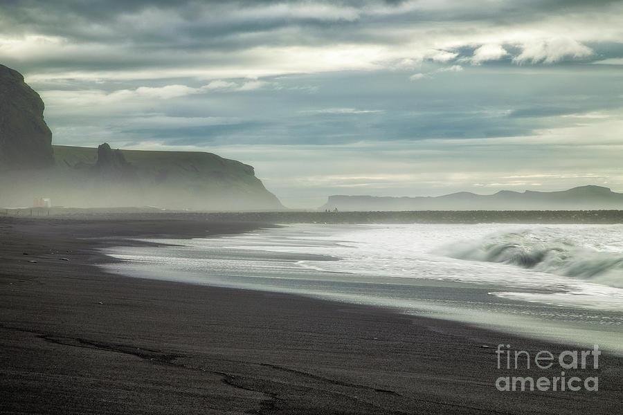 Vik Beach by Roxie Crouch