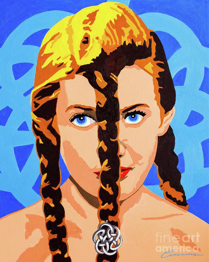 Viking Knot Girl