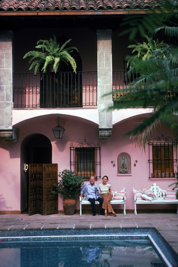 Villa At Cuernavaca Photograph by Slim Aarons
