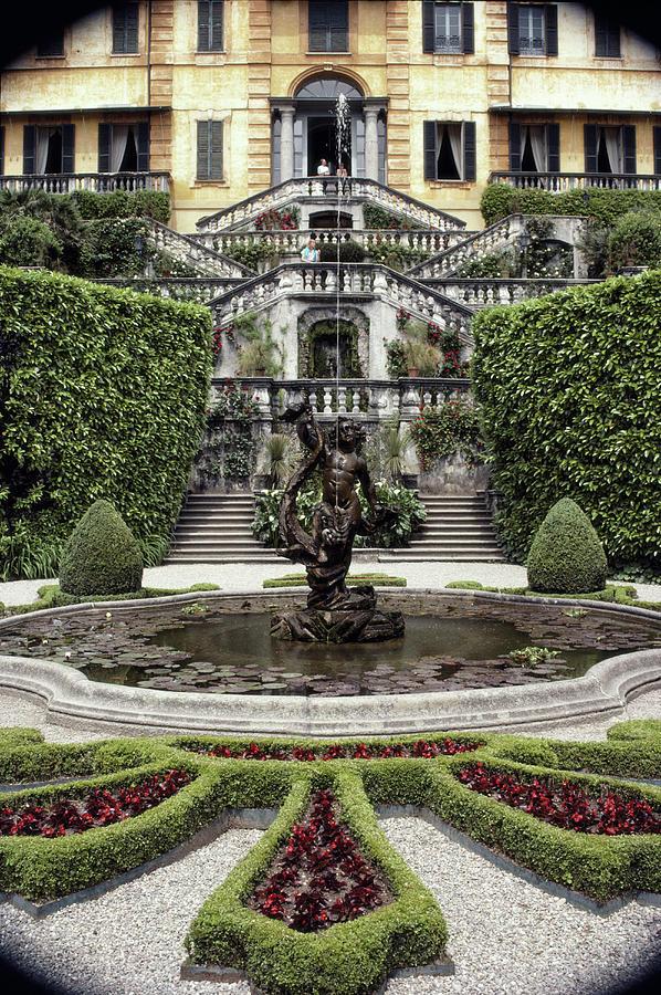 Villa Carlotta Photograph by Slim Aarons
