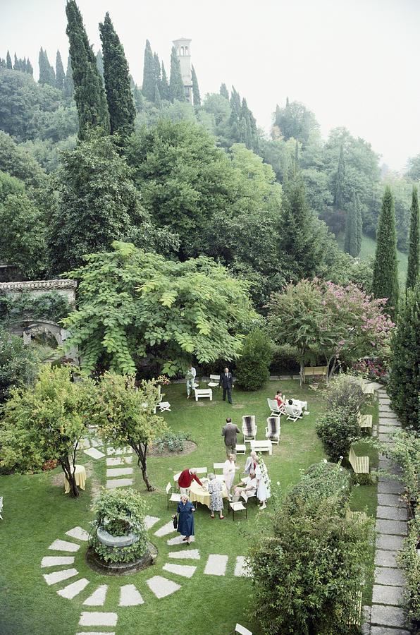 Villa Cipriani Photograph by Slim Aarons