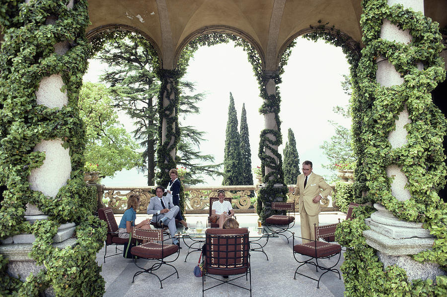 Villa Del Balbianello Photograph by Slim Aarons