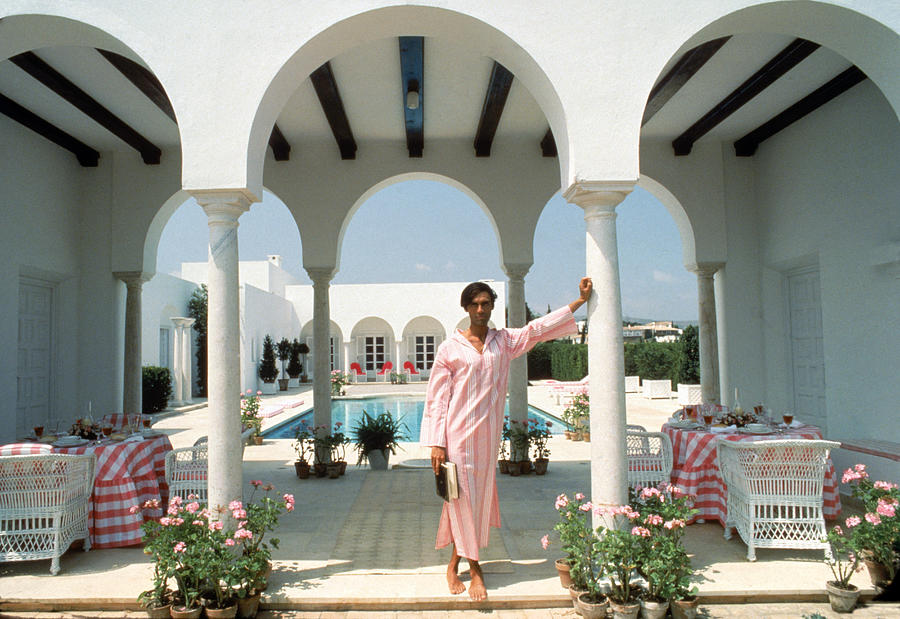 Villa In Sotogrande Photograph by Slim Aarons