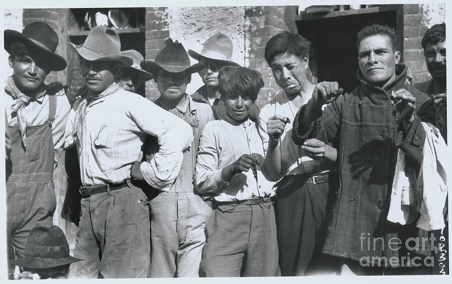 Villa Prisoners Photograph by Bettmann