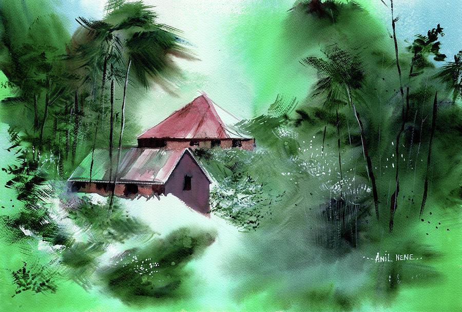 Village 1 by Anil Nene