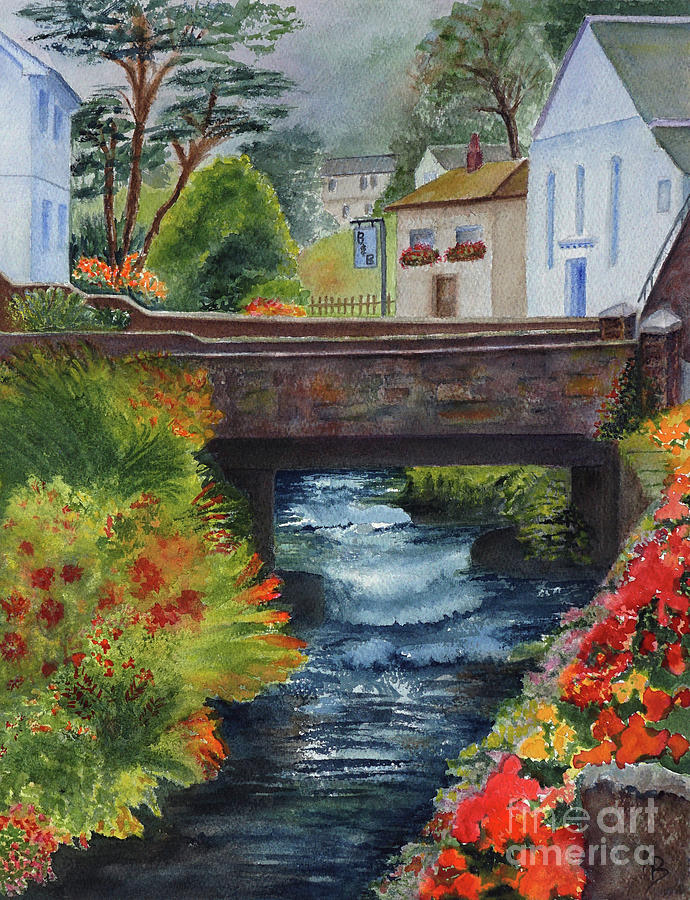 The Village Bridge by Karen Fleschler