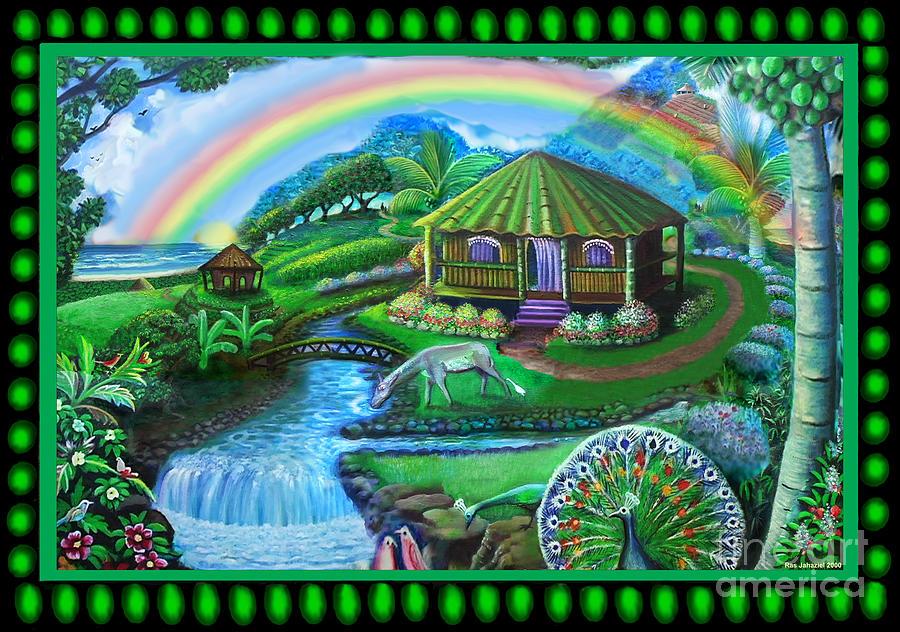 Barbados Painting - Village of Hope by Ras Tafari