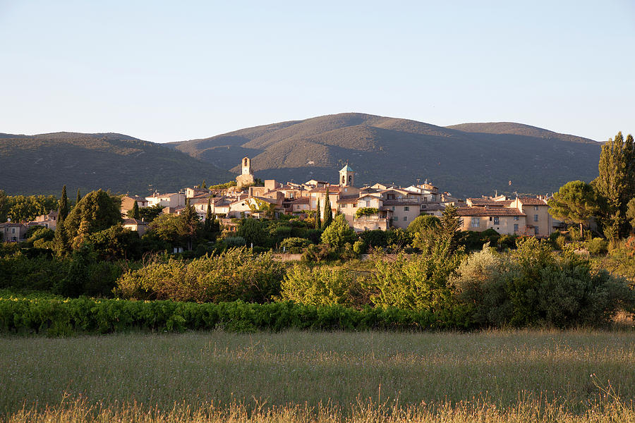 Village Of Lourmarin Photograph by Photo And Co