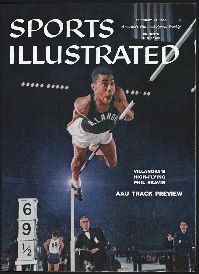 Villanova Phil Reavis, 1957 Aau National Indoor Sports Illustrated Cover Photograph by Sports Illustrated