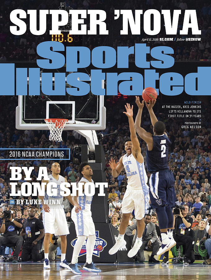 Magazine Cover Photograph - Villanova University, 2016 Ncaa National Champions Sports Illustrated Cover by Sports Illustrated
