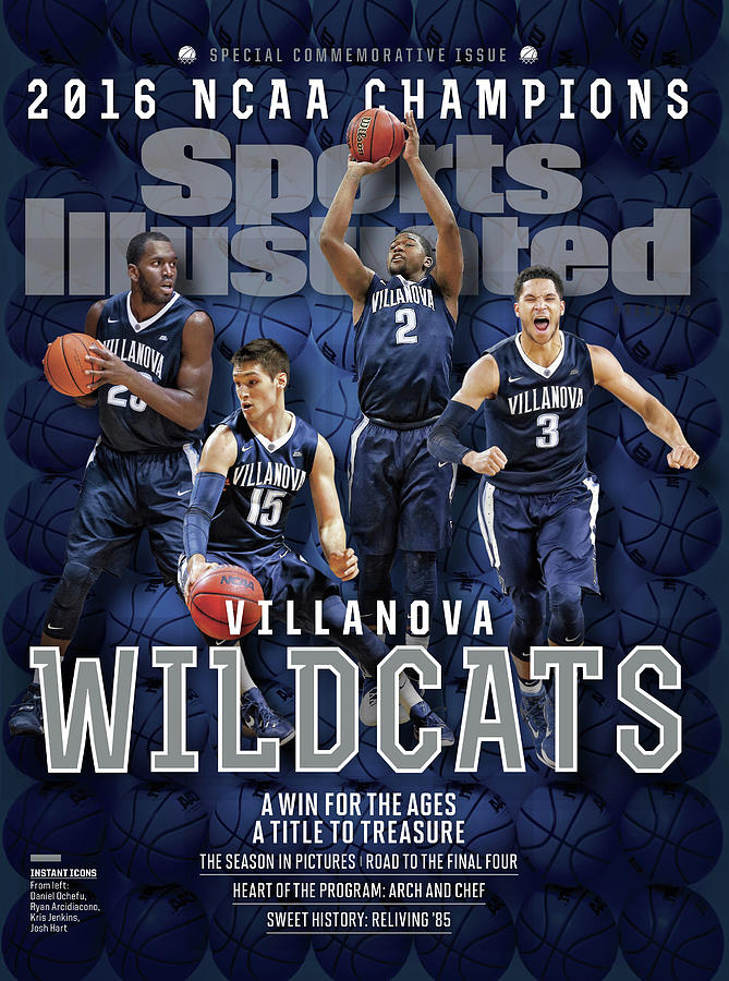 Villanova University Wildcats 20016 Ncaa Champions Sports Illustrated Cover Photograph by Sports Illustrated