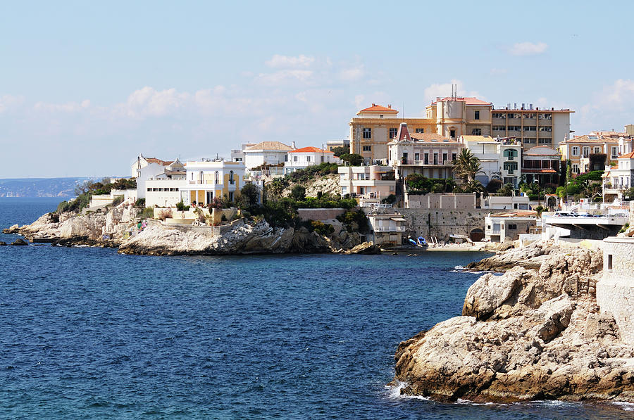 Villas On The Mediterranean Photograph by Jeangill