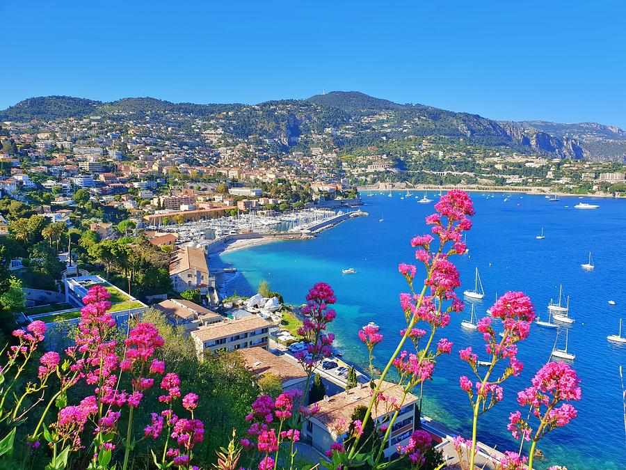 Villefranche View by Andrea Whitaker