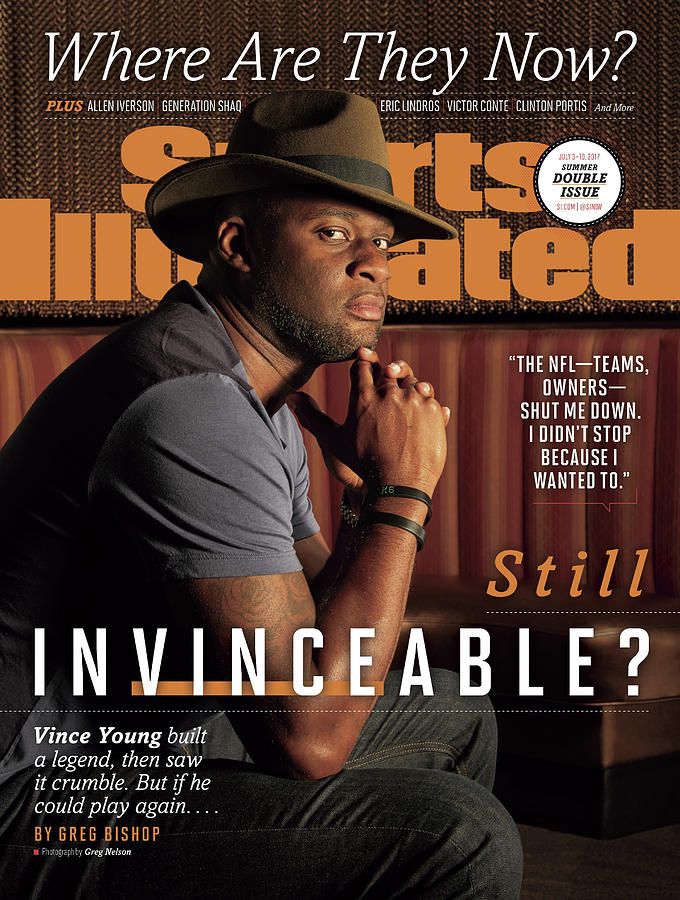 Vince Young, Where Are They Now Sports Illustrated Cover Photograph by Sports Illustrated