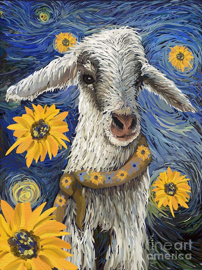 Vincent Van Goat by Robin Wiesneth