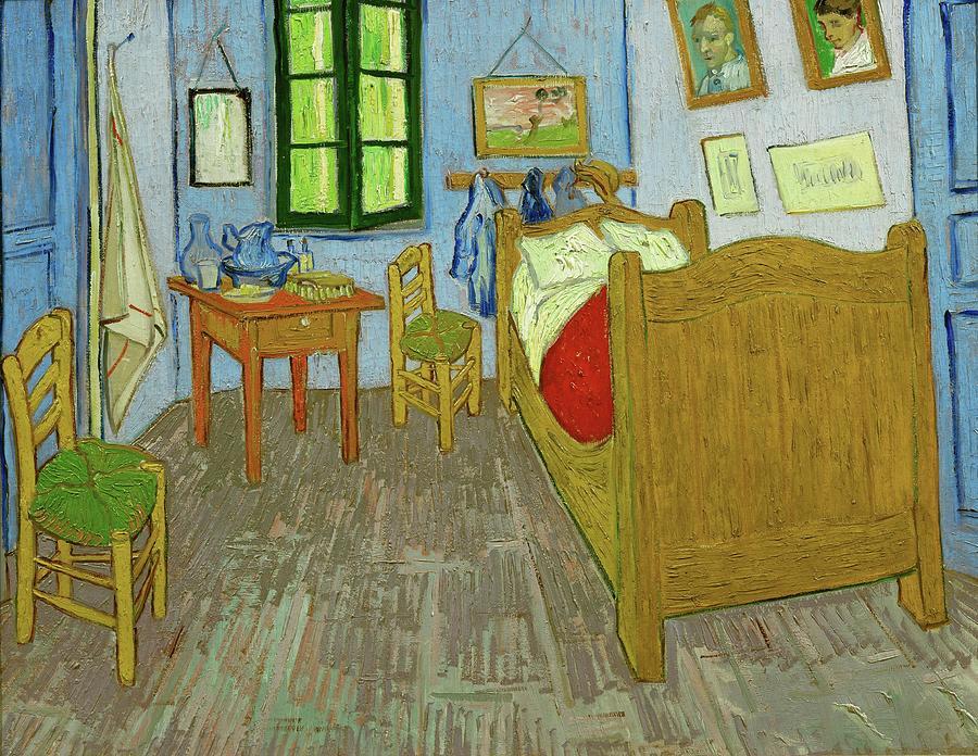 Vincent Van Gogh La Chambre De Van Gogh A Arles Van Gogh S