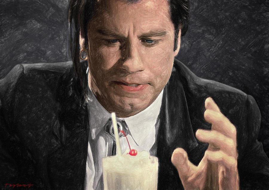 Vincent Vega Painting