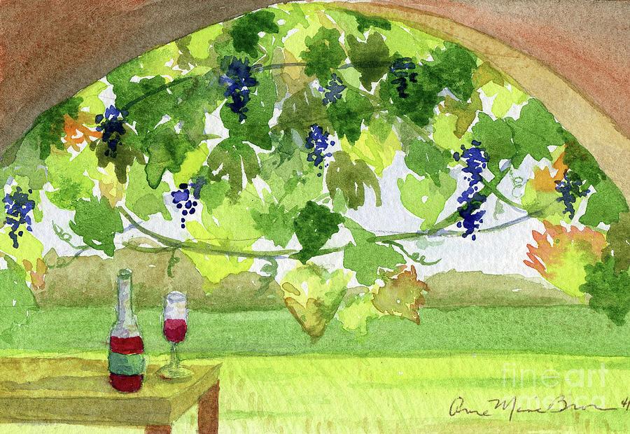 Vineyard by Anne Marie Brown