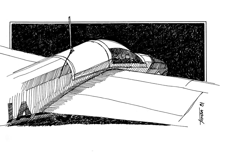 Vintage 1-26 Glider by Bill Tomsa