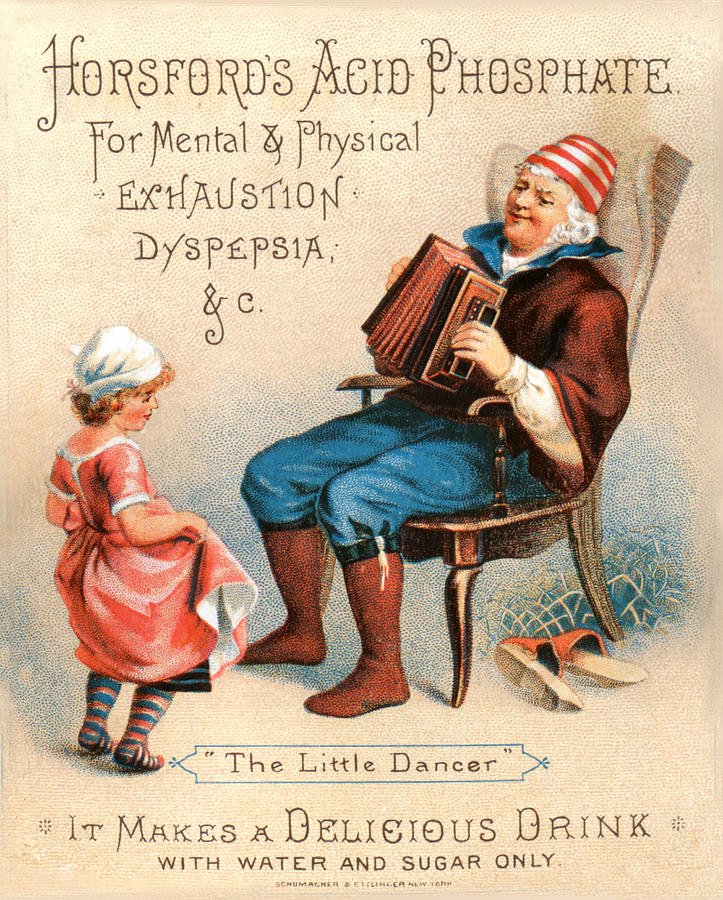 Vintage Advertising The Little Dancer Acid Phosphate Ad by Vintage Advertising Designs